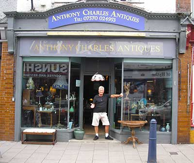 Anthony Charles Antiques Shop, Hythe, Kent