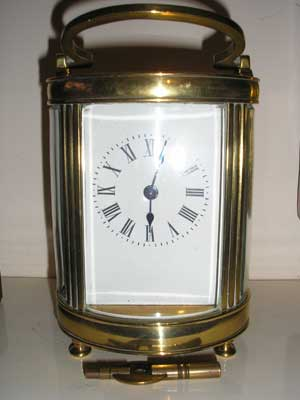 Cylindrical-Brass-Carriage-Clock-2