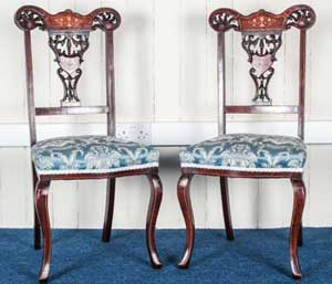 Damask-Victorian-Side-Chairs