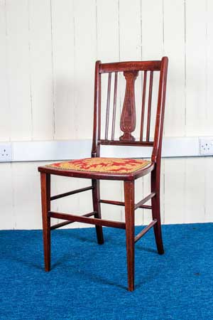 Antique Mahogany-Side-Chair