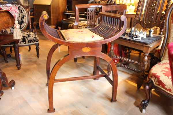 Antique-No-back-Chair-Hythe