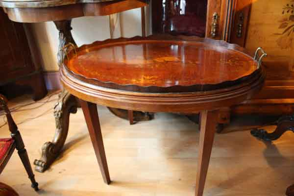 Antique-Serving-Tray-Table-Hythe-Kent