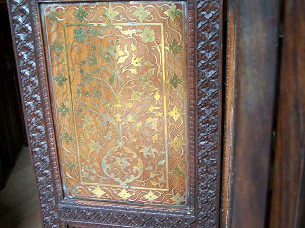 Rosewood-Fire-Screen-for-sale-Ashford-Kent